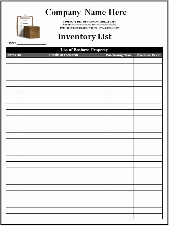 Baseball Card Inventory Excel Template Luxury 3 Inventory Templates Spreadsheet Excel Excel Xlts