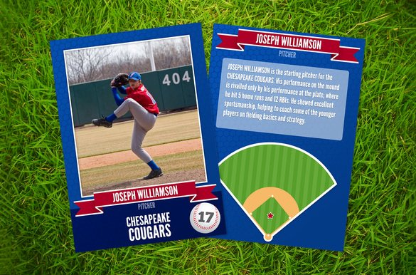 Baseball Card Size Template Luxury 16 Baseball Card Templates Psd Ai Eps