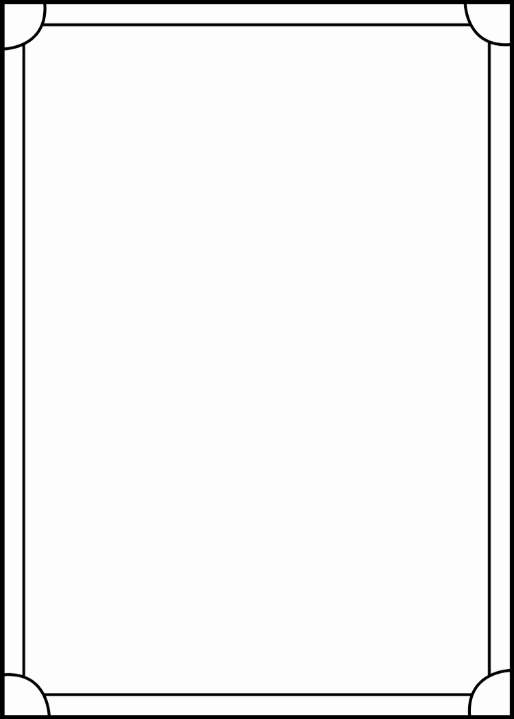 Baseball Card Size Template Unique Trading Card Template Back by Blackcarrot1129 On Deviantart