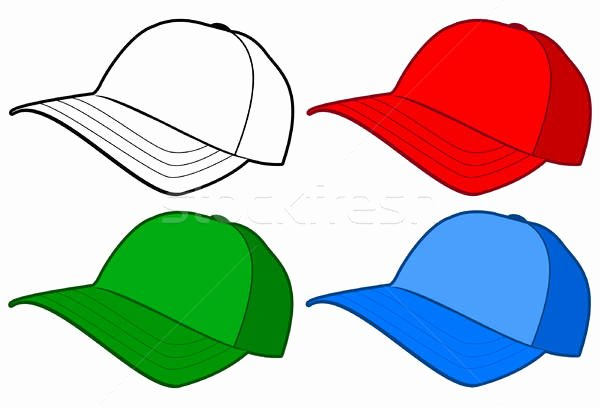Baseball Hat Vector Beautiful Baseball Hat or Cap Vector Template Vector Illustration