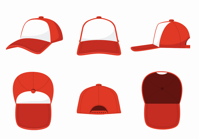 Baseball Hat Vector Inspirational Trucker Hat Vector Download Free Vector Art Stock
