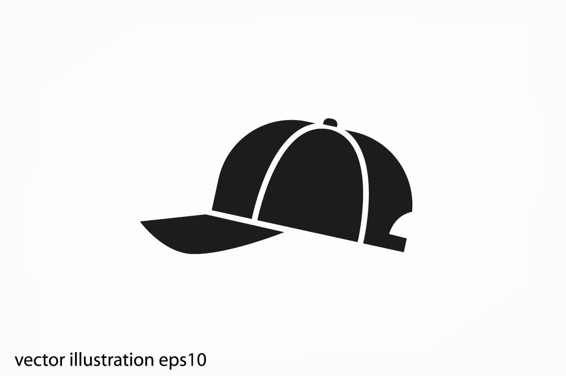Baseball Hat Vector Lovely Baseball Cap Icon Vector Icons Creative Market