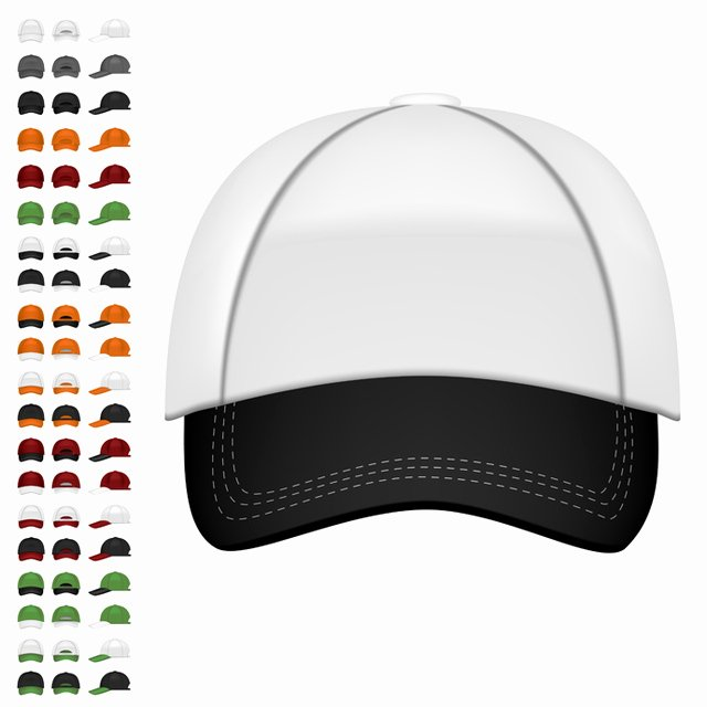 Baseball Hat Vector Luxury Baseball Cap Free Vector