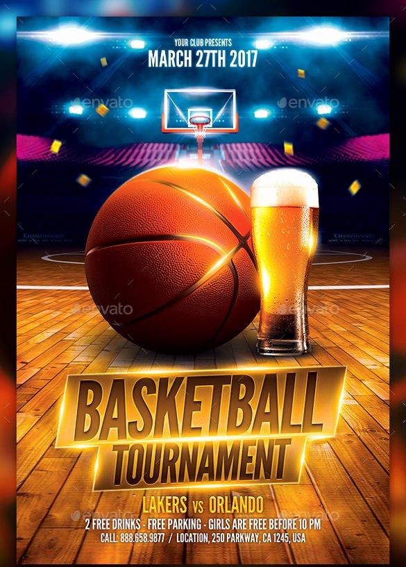 basketball flyer example