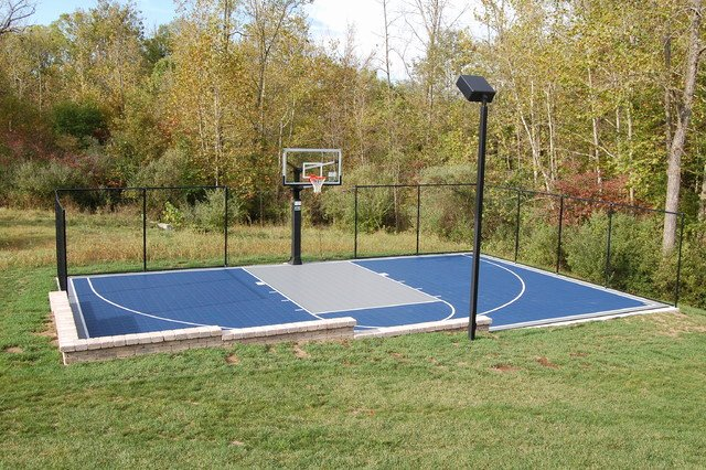 Outdoor Half Court Basketball traditional landscape other metro
