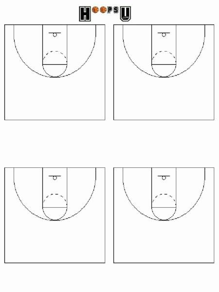 Basketball Play Diagram Awesome Basketball Court Diagrams