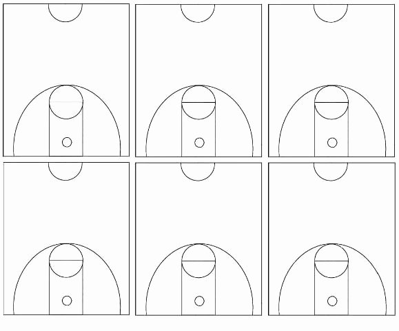 Basketball Play Diagram Fresh Best S Of Basketball Court Diagrams for Plays