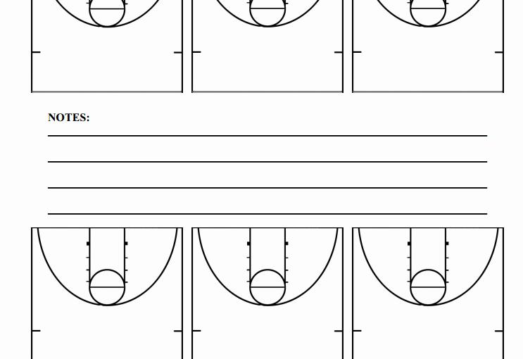 Basketball Play Diagram Luxury Half Court Basketball Diagrams – Hoop Coach