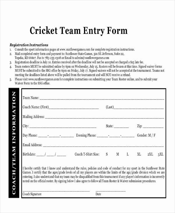 Basketball tournament Registration form Template Inspirational Index Of Cdn 3 2005 407