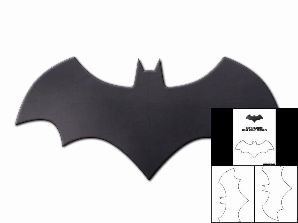 Batman Chest Emblem New Template for New 52 Batman Chest Emblem