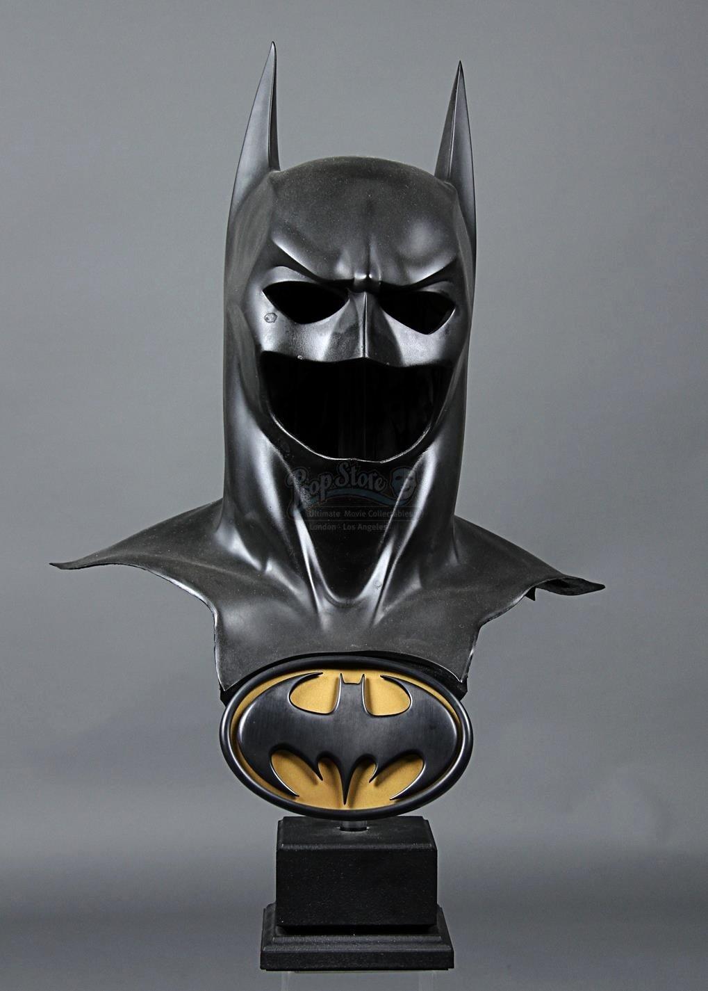 Batman Chest Emblem Unique Batman forever 1995 Batman S Val Kilmer Batsuit Cowl