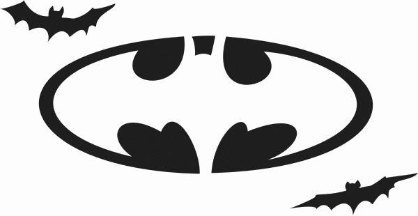 Batman Pumpkin Carving Stencil Lovely Batman Free Printables Batman Logo Stencil Printable Cake