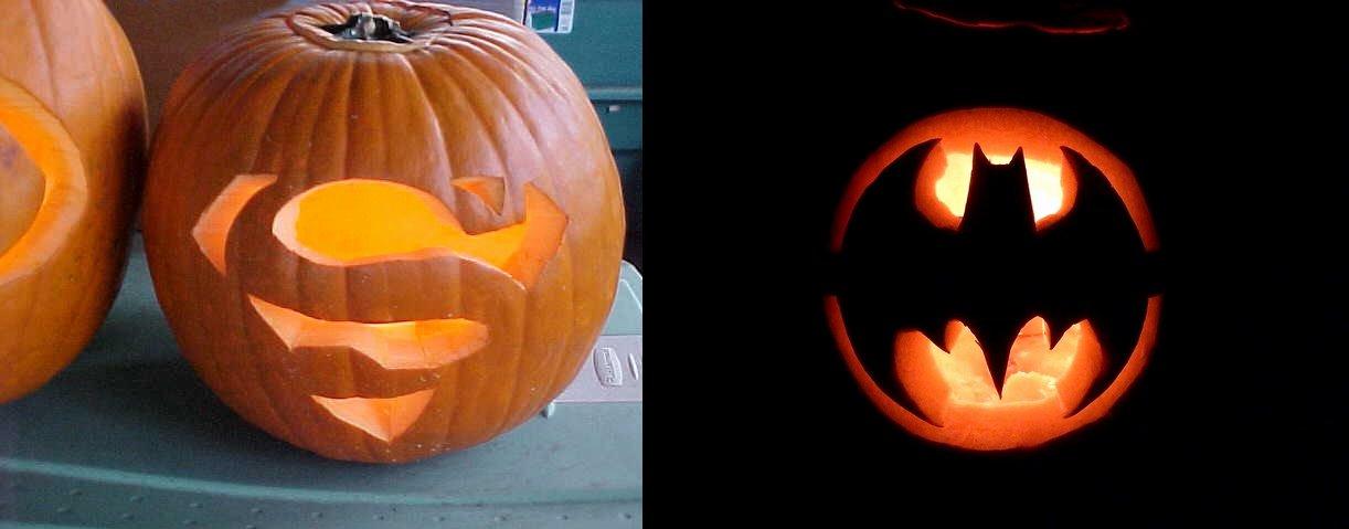 Batman Pumpkin Carving Stencil New Superman Batman Pumpkin Carving – Matt Horn S Blog