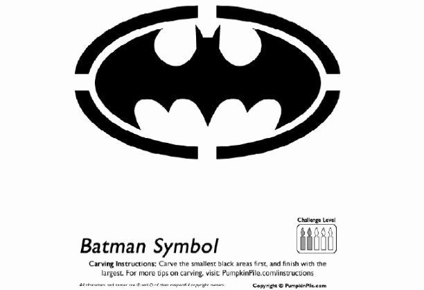 Batman Pumpkin Carving Stencils Beautiful Best 25 Batman Pumpkin Stencil Ideas On Pinterest