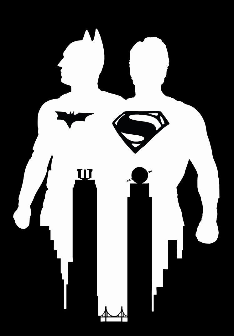Batman Stencil Art Elegant Batman Vs Superman Stencil Vector Art by Sartauzumaki On