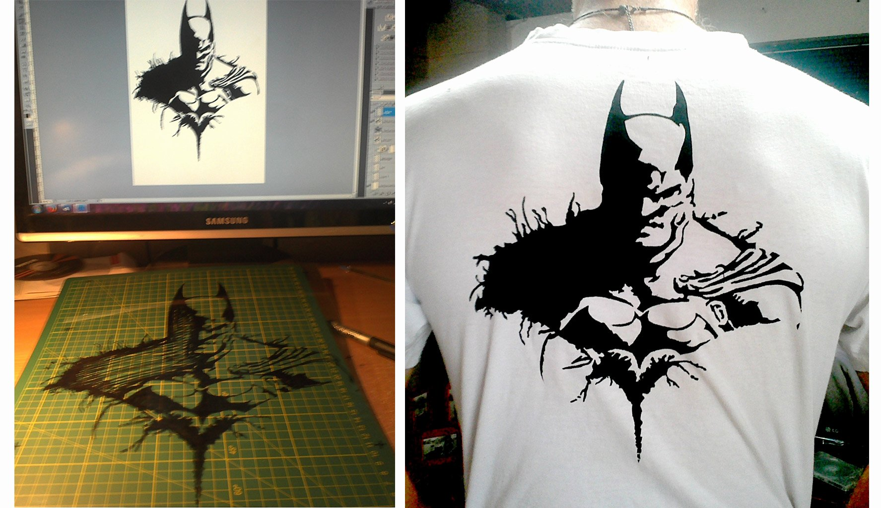 Batman Stencil Art Lovely Batman Stencil by Telephunkn On Deviantart