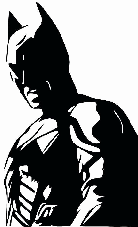 Batman Stencil Art Lovely Batman Stencil Clipart