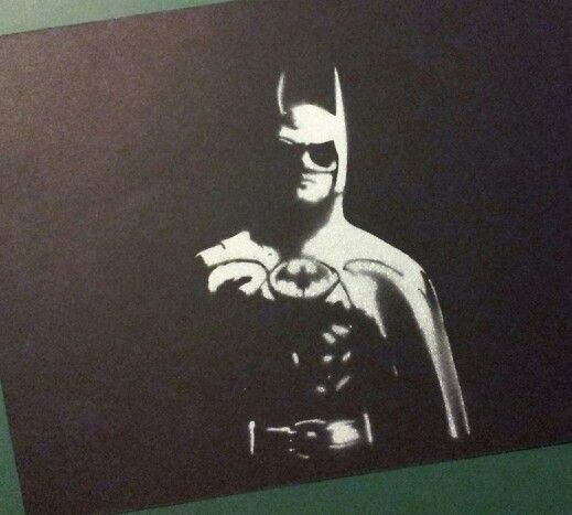 Batman Stencil Art New 73 Best Stencil Spray Paint Paintings I Made Images On