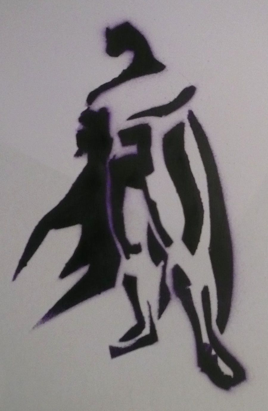 Batman Stencil Art New Batman Stencil by Jamahata On Deviantart