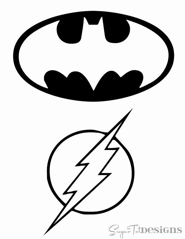 Batman Stencil Printable Inspirational Line Stencils
