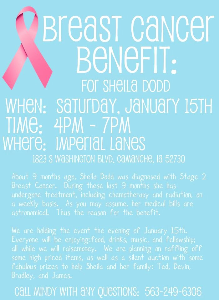 Benefit Flyer Examples Inspirational 15 Best Fundraiser Benefit Flyers for Cancer and Health