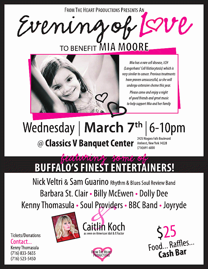 """Benefit Flyer Examples Luxury """"an evening Love"""" for Mia Moore Benefit Flyer – Country"""