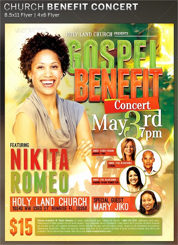 Benefit Flyer Examples New 15 Non Profit Flyer Designs & Examples – Psd Ai