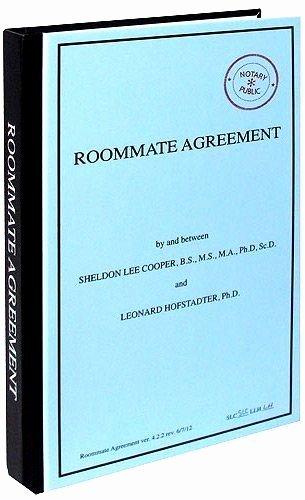 Big Bang theory Roommate Agreement Pdf Beautiful Best 10 Roommate Agreement Ideas On Pinterest