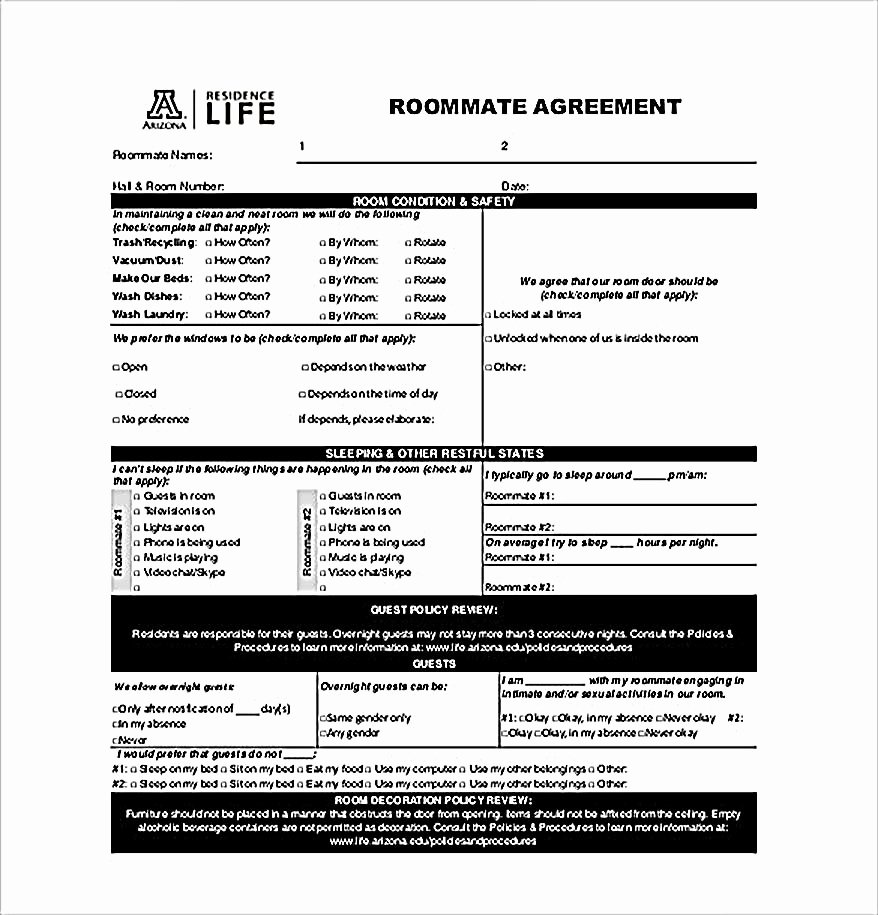 Big Bang theory Roommate Agreement Pdf Elegant How to Create Your Own Roommate Agreement Template Easily