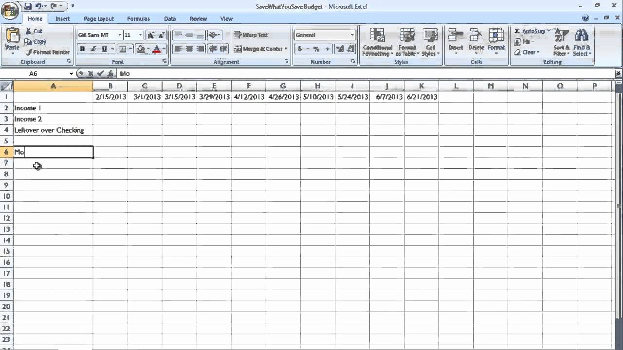 Bill Pay Spreadsheet Beautiful Easy Bud Bill Payment Schedule for Real People