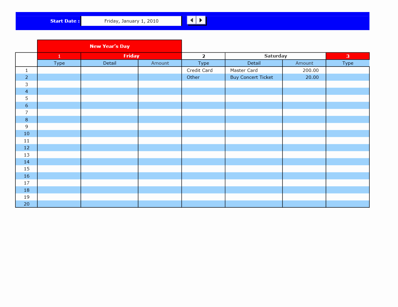 Bill Pay Spreadsheet Fresh Bill Payment Calendar Excel Templates