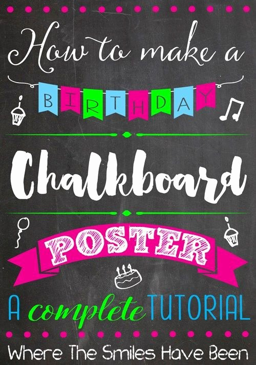 Birthday Chalkboard Template Awesome 50 More Fabulous and Free Chalkboard Fonts