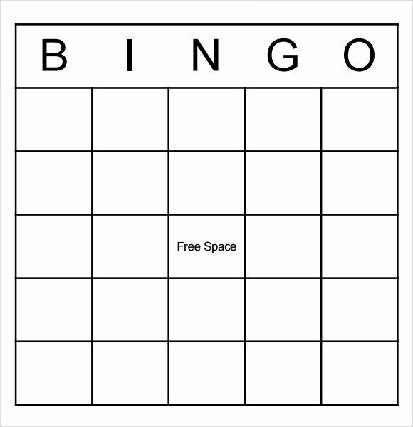 Blank Baseball Card Template Fresh 9 Blank Bingo Samples Pdf Word