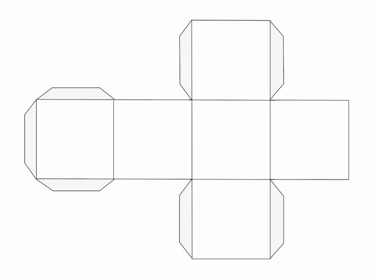 Blank Dice Template Lovely How to Make A Dice Template School Math
