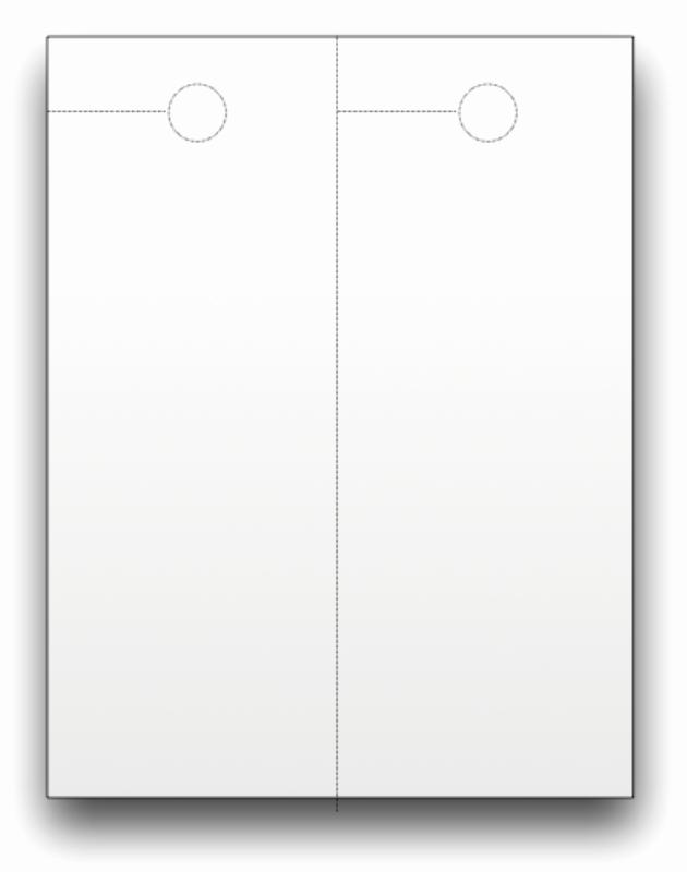 Blank Door Hanger Template for Word Awesome Blank Door Hangers Custom Print