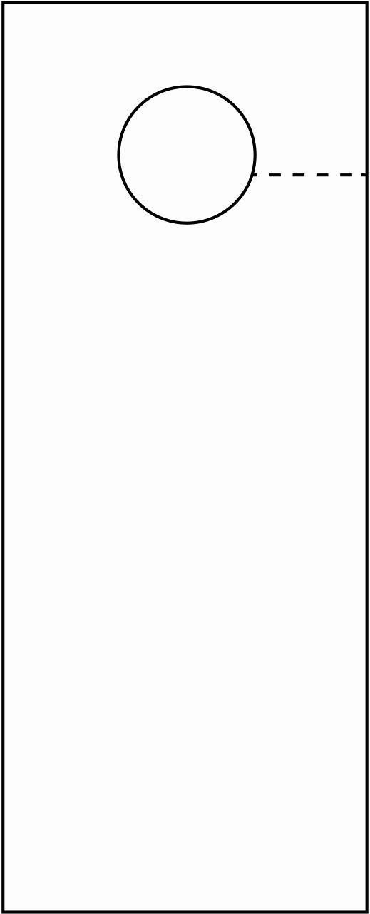 Blank Door Hanger Template for Word Luxury Door Hangers Template – Free Download – December 2018 Calendar