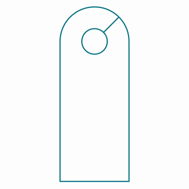 Blank Door Hanger Template for Word Unique Door Hanger & Door Hanger Sc 1 St Template