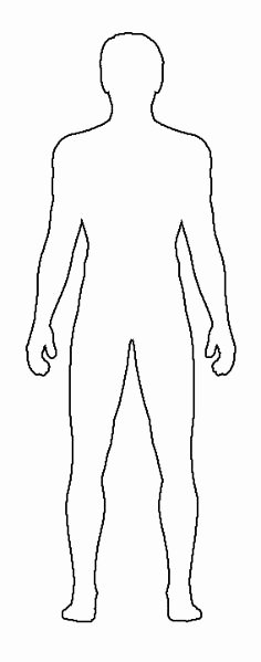 Blank Female Body Template Awesome Gallery for Male Body Template for Costume Design