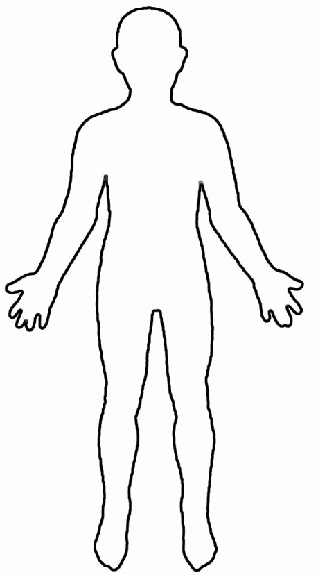 Blank Female Body Template Fresh therapeutic Interventions for Children where Do You Feel