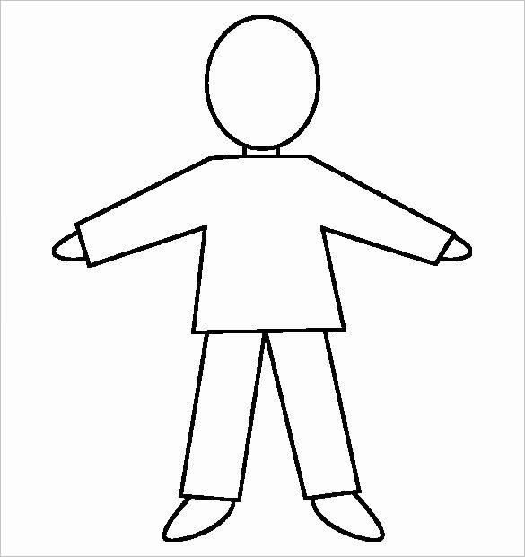 Blank Female Body Template Luxury 23 Body Outline Templates Pdf Jpg