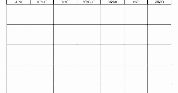 Blank Football Playbook Template Lovely Free Printable Blank Monthly Calendars 2017 2018 2019