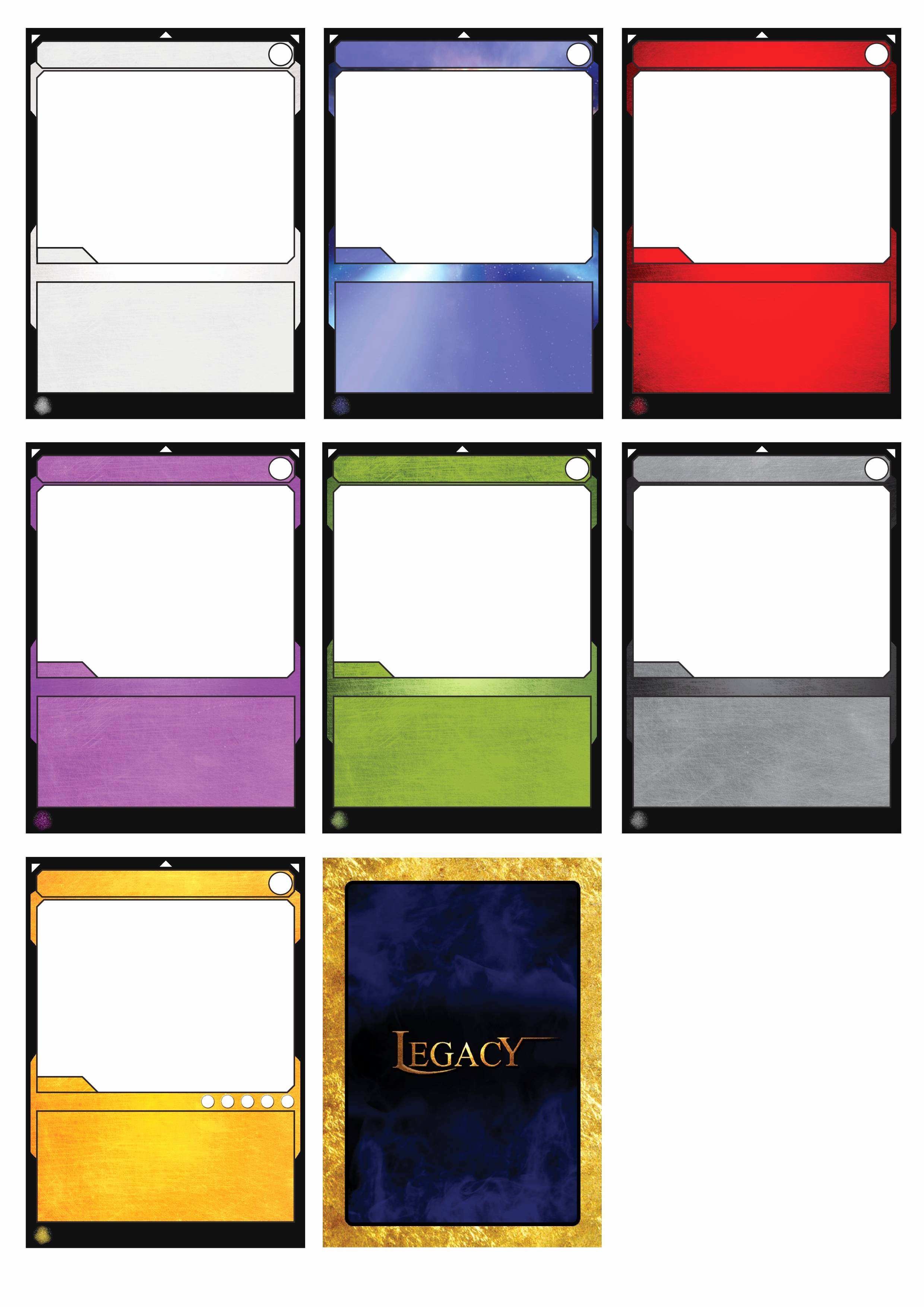 Blank Game Card Template Awesome Best S Of Cards Game Board Template Board Game