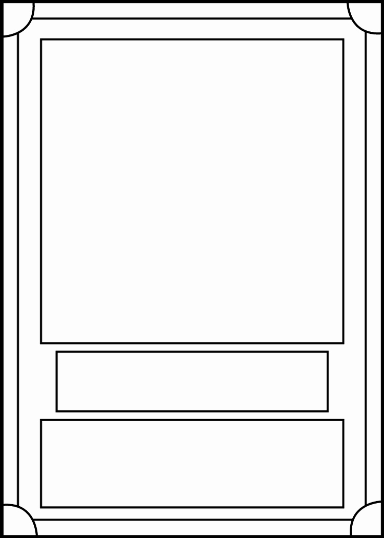 Blank Game Card Template Inspirational Trading Card Template Front by Blackcarrot1129 On Deviantart