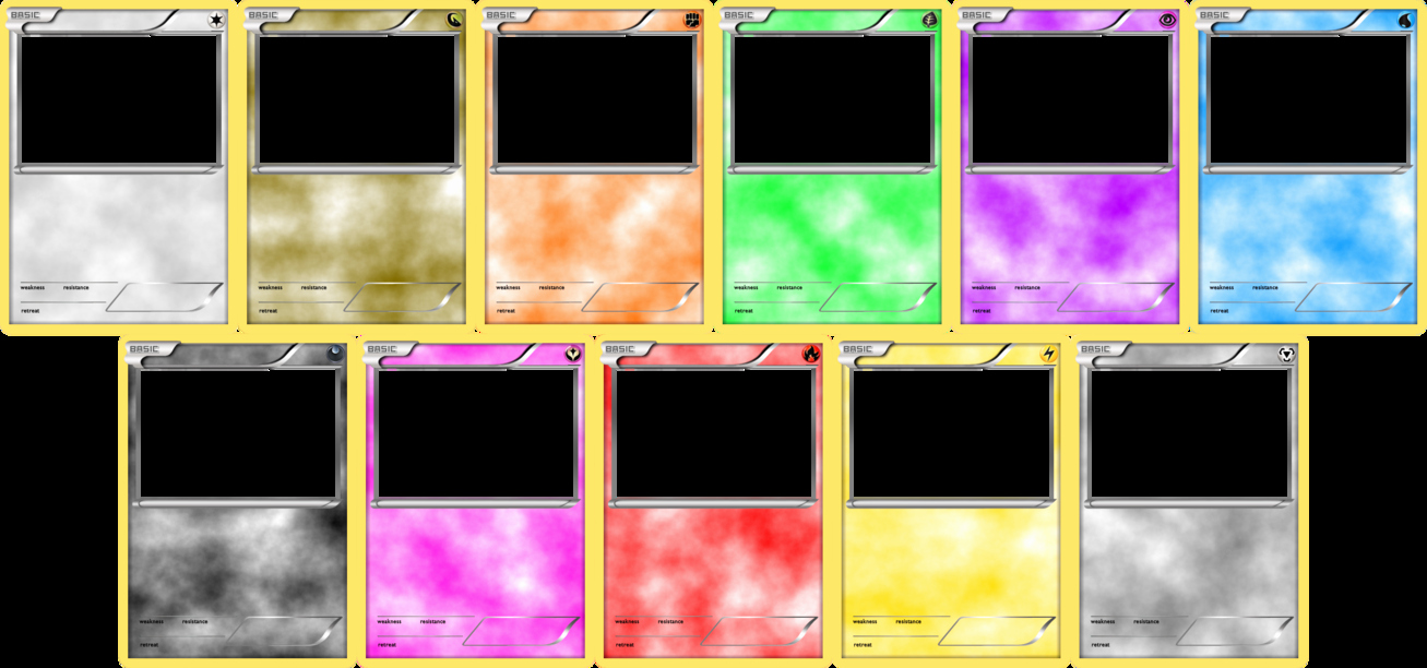 Blank Game Card Template Lovely Pokemon Blank Card Templates Basic by Levelinfinitum On