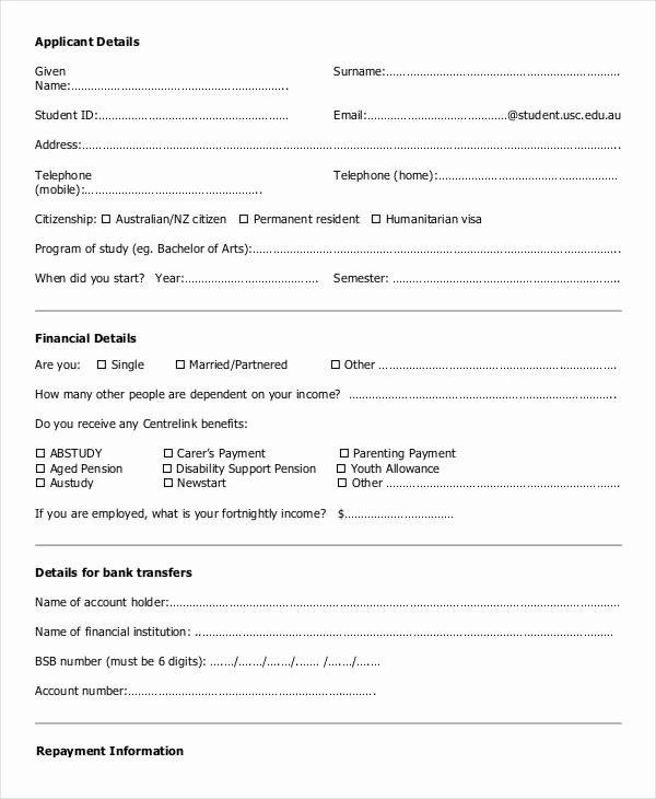 Blank Loan Contract Fresh Blank Loan Contract – Chagrin Design