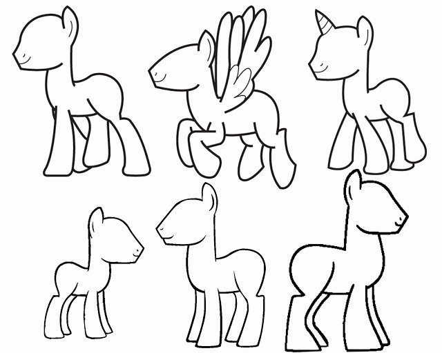 Blank Male Body Template Best Of Doodlecraft Design and Draw Your Own My Little Pony