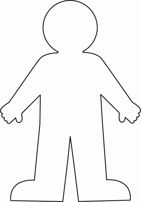 Blank Male Body Template Best Of Romans Study for Kids Romans 3 10 20