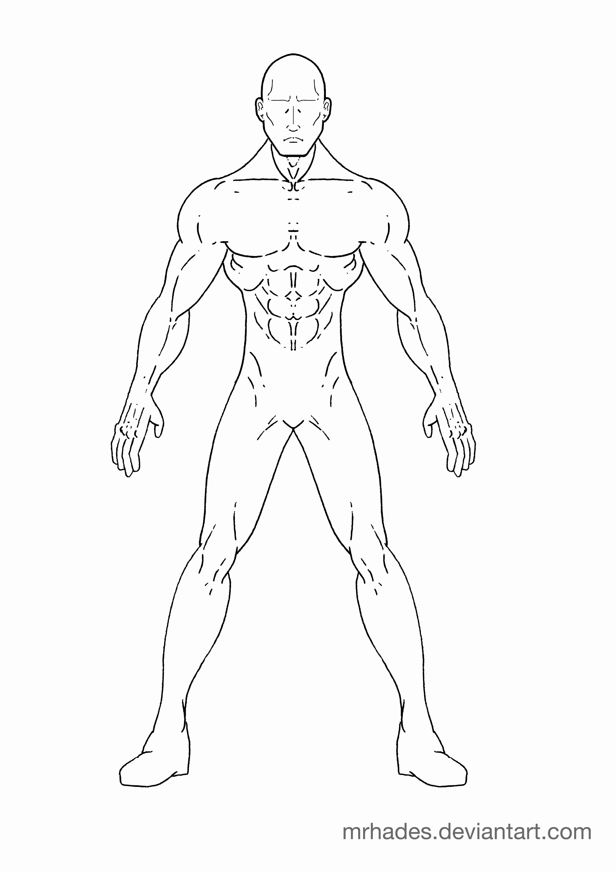 Blank Male Body Template Inspirational Superhero Drawing Templates Drawings Art Gallery