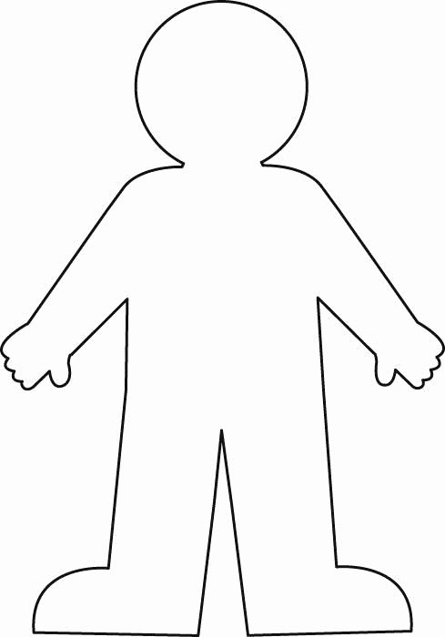 Blank Male Body Template Unique Worksheet with A Blank Body Outline Google Search