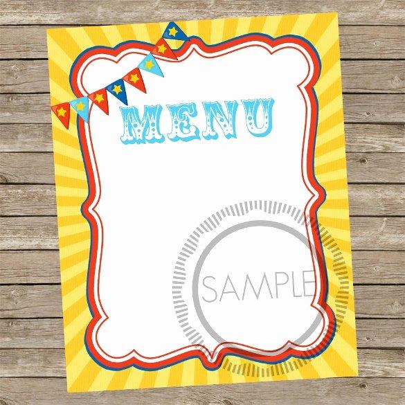 Blank Menu Template Beautiful Sample Blank Menu Template 21 Download In Pdf Psd Eps